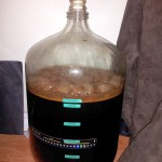 Stout 12 hours after yeast pitched